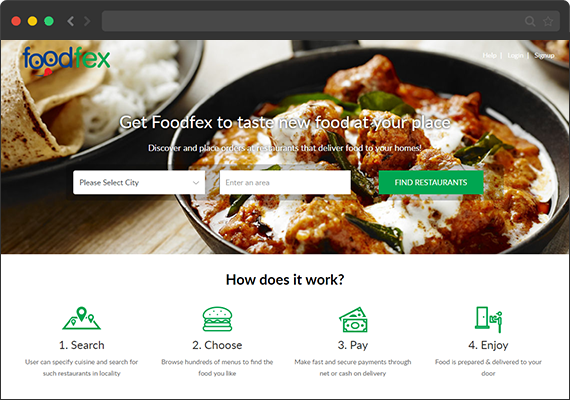 Online ordering system for restaurant in Bangladesh| Foodfex